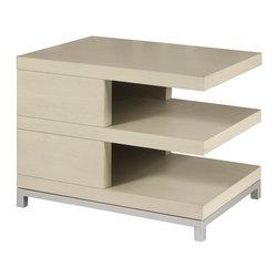 Vanguard Furniture - Vanguard Furniture Tribeca End Table W304E-FG - Vanguard Furniture Tribeca End Table W304E-FG