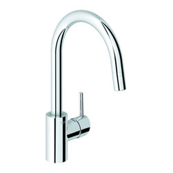 Grohe - Grohe 32 665 000 Concetto Dual Spray Pull-Out Kitchen Faucet, StarLight - Application