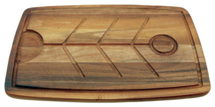 modern knives and chopping boards by Mountain Woods