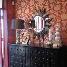 Asian Entry by Marie Hebson's interiorsBYDESIGN Inc.