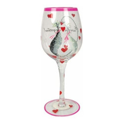 "WL - 9 Inch ""Purrfect Together"" Valentine Cat Wine Glass (15 oz) - This gorgeous 9 Inch ""Purrfect Together"" Valentine Cat Wine Glass (15 oz) has the finest details and highest quality you will find anywhere! 9 Inch ""Purrfect Together"" Valentine Cat Wine Glass (15 oz) is truly remarkable."