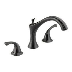 Delta - Delta T2792-RB Addison Roman Tub Trim (Venetian Bronze) - The Addison collection offers a dainty, sea-shell inspired design, giving your bathroom a statuesque, enchanting touch to your bath.