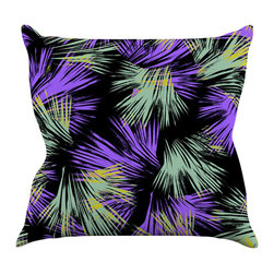 "Kess InHouse - Gabriela Fuente ""Tropical Fun"" Throw Pillow (18"" x 18"") - Rest among the art you love. Transform your hang out room into a hip gallery, that's also comfortable. With this pillow you can create an environment that reflects your unique style. It's amazing what a throw pillow can do to complete a room. (Kess InHouse is not responsible for pillow fighting that may occur as the result of creative stimulation)."