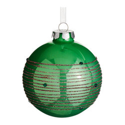 Silk Plants Direct - Silk Plants Direct Glittered Glass Ball Ornament (Pack of 6) - Green - Pack of 6. Silk Plants Direct specializes in manufacturing, design and supply of the most life-like, premium quality artificial plants, trees, flowers, arrangements, topiaries and containers for home, office and commercial use. Our Glittered Glass Ball Ornament includes the following: