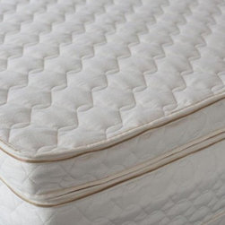 3 Inch Natural Latex Mattress Topper, Queen - Customize your level of comfort with the addition of a latex mattress topper. This ultra-luxurious latex topper will add a comfortable plush layer to any mattress.  A three inch layer of 100% natural latex with a luxurious cotton cover provides for a cool, comfortable sleeping experience.  This topper is anti-bacterial, anti-fungal, and resists bedbugs.