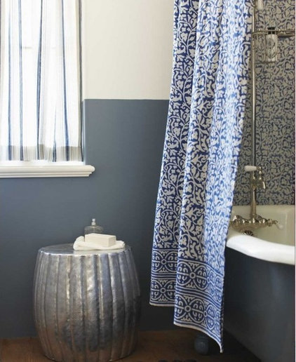 Traditional Shower Curtains by VivaTerra
