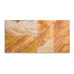 Autumn Blend Travertine Collections - Autumn Blend Travertine Tiles. Please visit www.stone-mart.com or call (813) 885-6900 for more information.