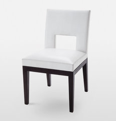 modern dining chairs and benches by Holly Hunt