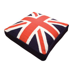 Jonathan Adler British Flag Dog Bed - If your dog's pedigree started in England, this Union Jack dog bed is a must. It's the right spot for Nigel the English Bulldog to perch while he watches the Will and Kate wed.