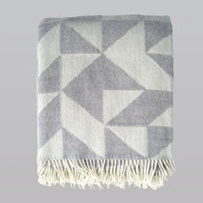 Contemporary Blankets by Gretel Home