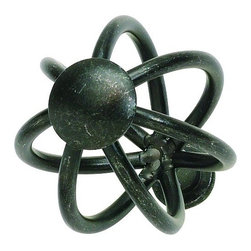 Atlas - Twisted Wire Frame Knob - 30065-I (Set of 10) - Color: IronManufacturer SKU: 30065-I. Round shape. Projection: 2 in.. Made from metal. 1.5 in. Dia.