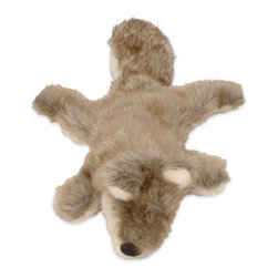 Go Dog - Go Dog Mini Roadkill Dog Toy - 770694 - Shop for Dog Toys from Hayneedle.com! Even considering all the things that your pup could drag in and drop at your feet in an expression of love you'll always be glad when it's the GoDog Mini Roadkill Dog Toy. This floppy plush toy is designed without any stuffing so no matter how much they shake it and chew it they won't spread a whole mess of foam around your house. A crinkle tail and squeak toy keep them interested and you can choose a range of styles to suit your puppy's breed or maybe the kind of road kill that's most common in your area.