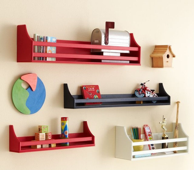contemporary wall shelves by Pottery Barn Kids