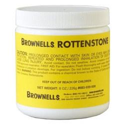Rottenstone - This genuine, triple fine, Rottenstone powder has been used by professional stock finishers for generations. Mix with natural oil to polish wood to a fine finish with a felt pad.