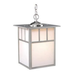Vaxcel Lighting - Vaxcel Lighting OD14696 Mission 1 Light Large Outdoor Pendant - Product Features: