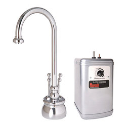 Mountain Plumbing - Mountain Plumbing The Little Gourmet Instant Hot and Cold Water Dispenser Kit - Mountain Plumbing 550DIYNLBRN The Little Gourmet Instant Hot and Cold Water Dispenser Kit, Brushed Nickel
