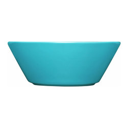 Iittala - Teema Soup & Cereal Bowl Turquoise - Whether you're filling up on soup or cereal, you'll love the sleek design of these ceramic bowls. They're perfect for everyday use and cleanup is a breeze since they're dishwasher safe. You can't go wrong with this modern take on a classic essential.