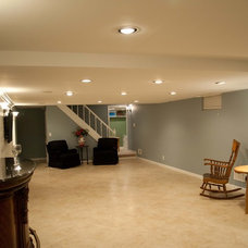 Traditional Basement by J. Reynolds Builders