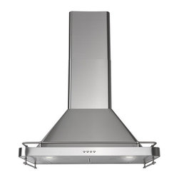DÅTID Exhaust Hood, Stainless Steel - For serious cooks, having an exhaust hood will make a huge difference in clearing out lingering cooking smells. I like this stainless steel hood from Ikea because it is functional, aesthetically pleasing and the price won't break the bank.