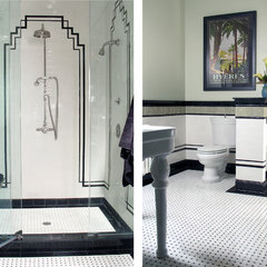 traditional bathroom by Robin Muto