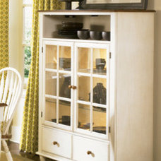 Storage Units And Cabinets Liberty 'Low Country' Linen Sand Curio Cabinet