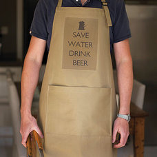 'save water drink beer' apron by catherine colebrook | notonthehighstreet.com