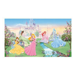 RoomMates - RoomMates Dancing Princess Chair Rail Mural Multicolor - JL1228M - Shop for Wall Decorations from Hayneedle.com! About Roommates: Roommates a subsidiary of York Wallcoverings Inc creates some of the most versatile and unique wall decor you'll find. Their innovative wall decals feature a removable and endlessly reusable design allowing you to move and rearrange your decals as often as you like all without causing any damage to your walls or furnishings. This means you can apply them without worry or headache since you don't have to get the application perfect the first time. RoomMates work on any smooth surface and are particularly ideal for temporary decorating such as around the holidays. All RoomMates products are proudly made in the USA and are made from non-toxic materials so they're as safe for your kids and pets as they are for your walls.Please note this product does not ship to Pennsylvania.