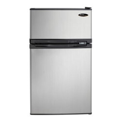 Danby - Danby Black & Platinum 3.1 Cubic Foot Refrigerator - Features: