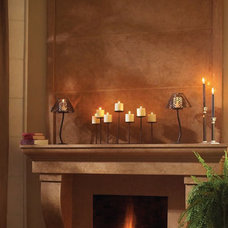 Traditional Indoor Fireplaces by Omega Mantels of Stone
