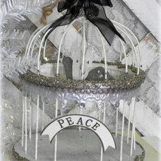 Farmhouse Christmas Ornaments by Lisa's Creative Designs