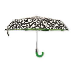 Kate Spade - Kate Spade Literary Glasses Travel Umbrella - Kate Spade Literary Glasses Travel Umbrella