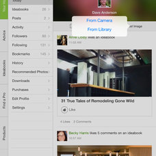 Inside Houzz: Houzz App Gets More Social Features, Enhanced Search