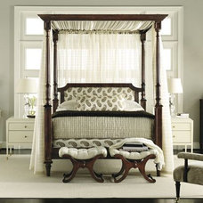Contemporary Canopy Beds by The Hickory Chair Furniture Co.