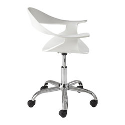 Atelier Office Chair, White