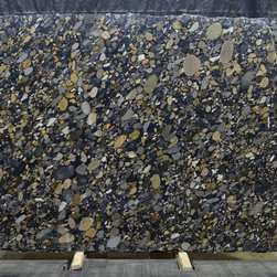 Royal Stone & Tile Slab Yard in Los Angeles - Golden Marinace extoic granite slab from Italy at Royal Stone & Tile