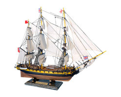 "Handcrafted Model Ships - HMS Surprise 30"" - Master and Commander Wood Ship Model - Sold Fully Assembled Ready for Immediate Display -Not a Model Ship Kit"