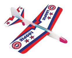 The Original Toy Company - The Original Toy Company Foam Glider - This superb glider (made in Germany) is designed for looping and gliding action. Made of durable foam, moveable weights for different flying experiences. Ages 3 years plus. Weight: 1 lbs.