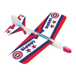 The Original Toy Company - The Original Toy Company Kids Children Play Loopie Glider - This superb glider (made in Germany) is designed for looping and gliding action. Made of durable foam, moveable weights for different flying experiences. Ages 3 years plus. Weight: 1 lbs.