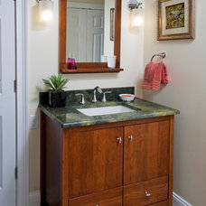 Contemporary Bathroom by Kathy Appel, ASID