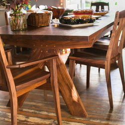 Clayton Thompson - Century Table + Bridge Chair - photo: Ashley Thalman