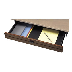 Bush - Bush Series A Pencil Drawer (pro) in Hansen Cherry - Bush - Add Ons - WC90451 - Conveniently designed to grow as you do the configurable OfficePro Collection of desks hutches files and accessories offers hundreds of workflow possibilities to explore.