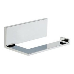 Liberty Hardware - Liberty Hardware 77750 Vero - Delta 6 Inch Tissue Paper Holder - Polished Chrome - The minimalist styling of the Vero collection gives your bath the look of an urban oasis. Available in Brilliance Stainless or Polished Chrome finish, the sleek lines of Vero create a thoroughly modern yet timeless feel. This collection complements the Vero faucet collection by Delta.. Width - 6 Inch,Height - 2.22 Inch,Projection - 3.63 Inch,Finish - Polished Chrome,Weight - 1.3 Lbs