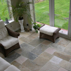 Eclectic Floor Tiles by travertine-floors-travertine-flooring.com