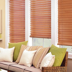 Parkland ™ Classics ™ Wood blinds- Hunter Douglas - The largest selection of hardwood blinds Rich colors … bright, modern stains … Parkland™ Classics™ wood blinds offer our widest selection of paint colors, stains and slat sizes, so you can find just the right design for your home.