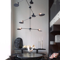 Contemporary Chandeliers by interieurs by Francine Gardner