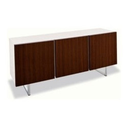 Calligaris - Calligaris | Quick Ship: Seattle 3-Door Cabinet - Design by S.T.C.