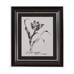 Bassett Mirror - Bassett Mirror Framed Under Glass Art, Studies in Ink Tulip - Studies in Ink Tulip