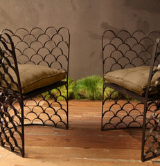 eclectic armchairs by BoBo Intriguing Objects