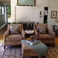 Traditional Living Room Santa Barbara Modern