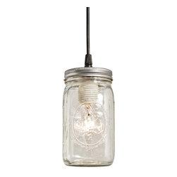 Barn Light Electric - Ball Jar Pendant -